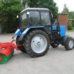 Traktor chetka